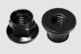 HEX FLANGE NYLON NUT (3)